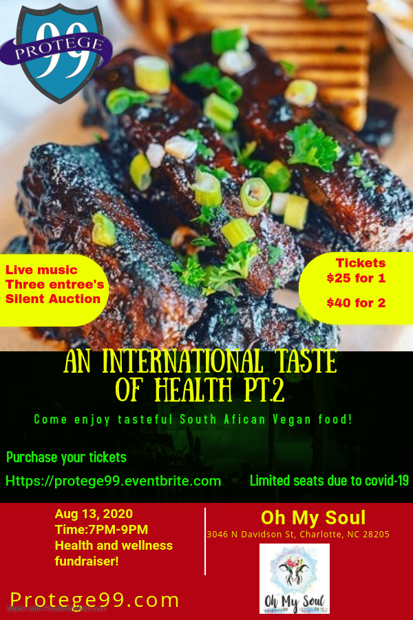 Protege99 International Taste Of Health 2020 Flyer